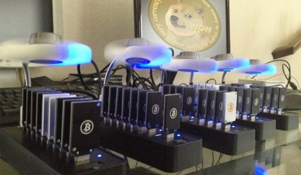 How I mine dogecoin with ASIC rigs