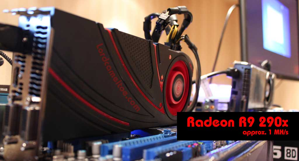 radeon r9 290x mining How I mine dogecoin with ASIC rigs